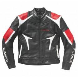 Difi veste Motegi noir/rouge