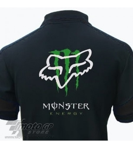 POLO FOX MONSTER ENERGY HOMME