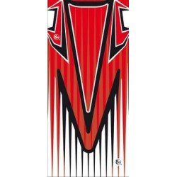 Buff logo, Storm Logo rouge