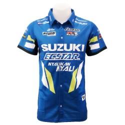 Chemise Suzuki couleur bleu...