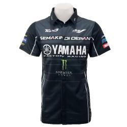 Chemise Yamaha couleur noir...