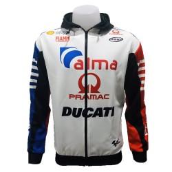Hoodie Ducati couleur blanc...