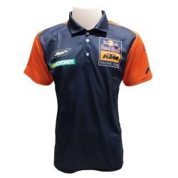 Polo KTM couleur orange et...