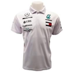 Polo Mercedes couleur blanc...