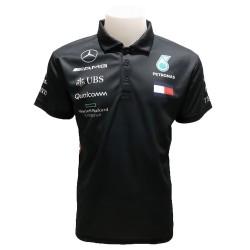 Polo Mercedes couleur noir...