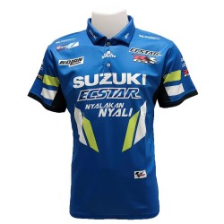 Polo Suzuki couleur bleu...