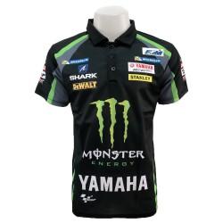 Polo Yamaha couleur noir homme